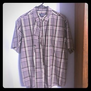Other - Flannel plaid button down xL